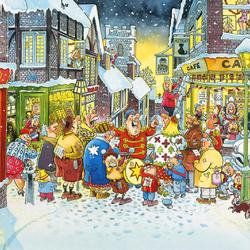 Пазл онлайн: Белое Рождество
