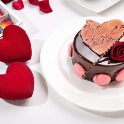 Пазл онлайн: В День всех влюблённых