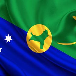 Пазл онлайн: Флаг Острова Рождества