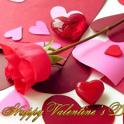 Пазл онлайн: С Днем всех влюблённых!