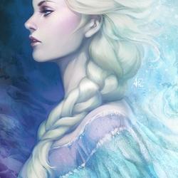 Пазл онлайн: Снежная леди