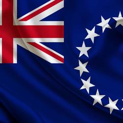 Пазл онлайн: Флаг Острова Кука