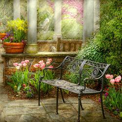 Пазл онлайн: Любимое местечко для отдыха
