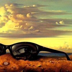 Пазл онлайн: Забытые солнцезащитные очки