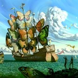 Пазл онлайн: Корабль