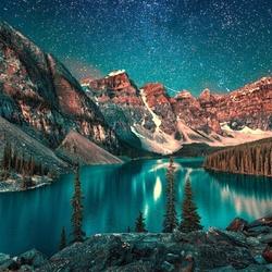 Пазл онлайн: Под звездным небом