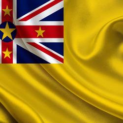 Пазл онлайн: Флаг Ниуэ
