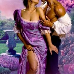 Пазл онлайн: Весенний поцелуй