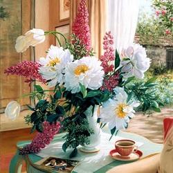 Пазл онлайн: Моя цветочная душа