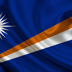 Пазл онлайн: Флаг Маршалловых островов