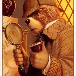 Пазл онлайн: Шерлок Холмс
