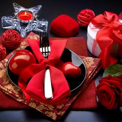 Пазл онлайн: С праздником, дорогая!