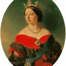Пазл онлайн: Королева Виктория