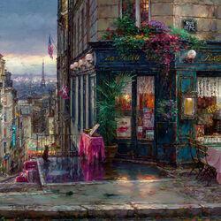 Пазл онлайн: Парижские мечты