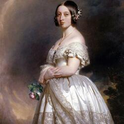 Пазл онлайн: Юная королева Виктория
