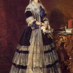 Пазл онлайн: Мария Амели Тереза де Бурбон, королева Франции