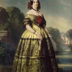 Пазл онлайн: Мария Луиза Фернанда де Бурбон, герцогиня де Монпансье