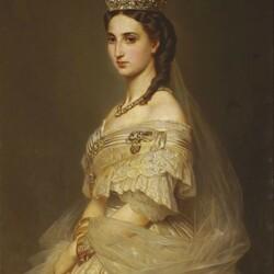 Пазл онлайн: Шарлотта Бельгийская, императрица Мексики