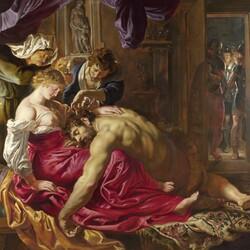 Пазл онлайн: Самсон и Далила