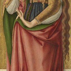 Пазл онлайн: Святая Мария Магдалина