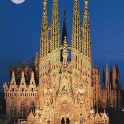 Пазл онлайн: Храм Святого Семейства, Испания