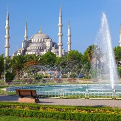 Пазл онлайн: Султан Ахмет, Стамбул