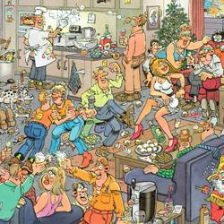 Пазл онлайн: Новогодняя вечеринка