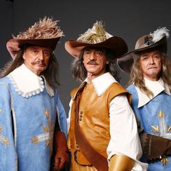 Пазл онлайн: Легендарные мушкетёры