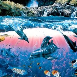 Пазл онлайн: Подводное движение