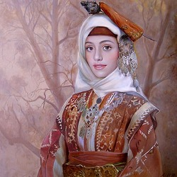 Пазл онлайн: Болгарский национальный костюм