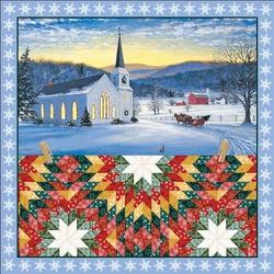 Пазл онлайн: Зимнее одеяло