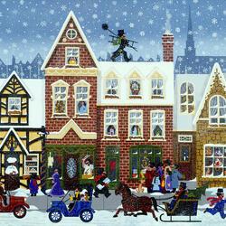 Пазл онлайн: Счастливое Рождество