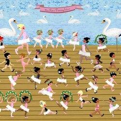 Пазл онлайн: Балетный класс мисс Прим