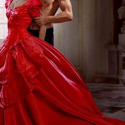 Пазл онлайн: Романс в красном
