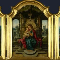 Пазл онлайн: Триптих