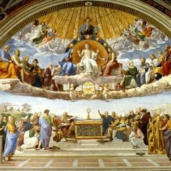 Пазл онлайн: Спор Святого Причастия