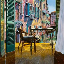 Пазл онлайн: Гостиная в Венеции