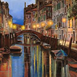 Пазл онлайн: Рассвет в Венеции
