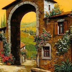 Пазл онлайн: Итальянская арка