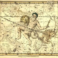 Пазл онлайн: Уранография. Водолей. Козерог