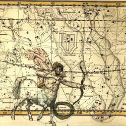 Пазл онлайн: Уранография. Стрелец