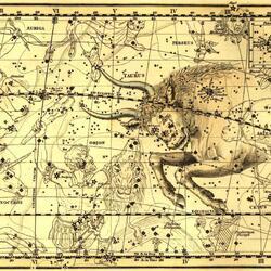 Пазл онлайн: Уранография. Телец