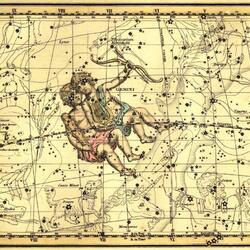 Пазл онлайн: Уранография. Близнецы