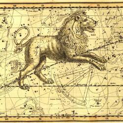 Пазл онлайн: Уранография. Лев