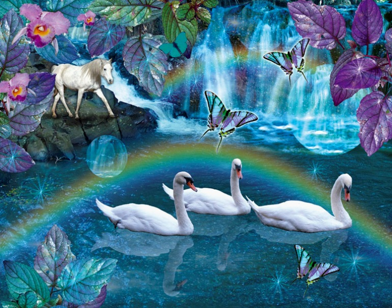 Картинки волшебного озера