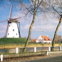 Пазл онлайн: Пейзаж Западной Бельгии