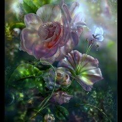 Пазл онлайн: Утренний цвет