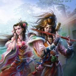 Пазл онлайн: Волшебная музыка