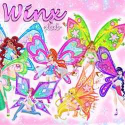 Пазл онлайн: Winx