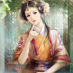 Пазл онлайн: Милая красавица